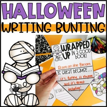 Halloween Bunting Banner | Writing Activity