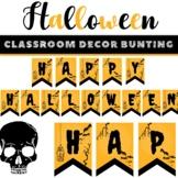 Happy Halloween Bunting Flag Pennants Spooky Season Holida
