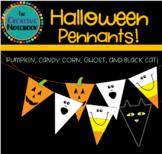 Halloween Bunting | Halloween Pennants | Pumpkin, Candy Co