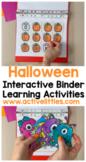 Halloween Busy Book Activity Binder - October