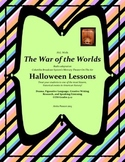 Halloween Lessons  War of the Worlds  5-12 Drama, Similes, and Creative Writing