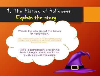 Halloween CLICK and DO activity
