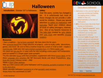 Halloween CLIP (Creative Learning in a Pinch)