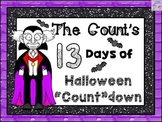 "Halloween ""COUNT""DOWN Task Cards"