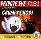 Halloween Literacy Mystery CSI: Reading Comprehension Infe