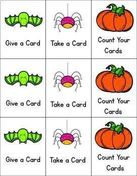 Halloween Activities for Kindergarten