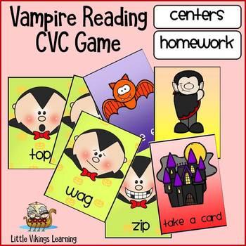 Halloween CVC Center: Vampire Reading