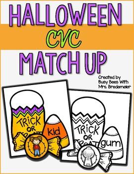 Halloween CVC Match Up