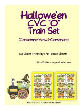 "Hallowe'en CVC ""O"" Train Set"