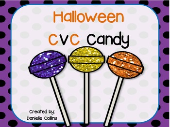 Halloween CVC Read & Color (CCSS)