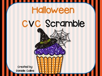 Halloween CVC Scramble
