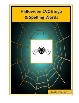 Halloween CVC & Spelling Words