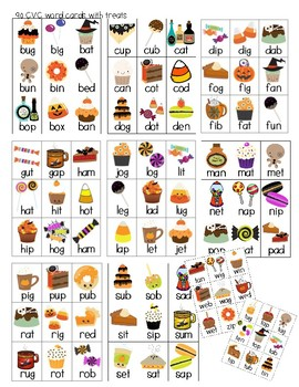 Halloween CVC Treats!