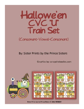 "Hallowe'en CVC ""U"" Train Set"