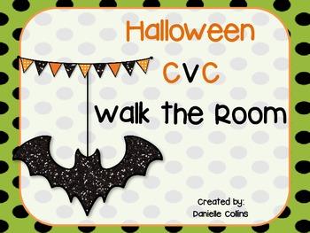 Halloween CVC Walk the Room