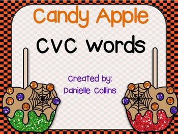 Halloween CVC Word Building (CCSS)
