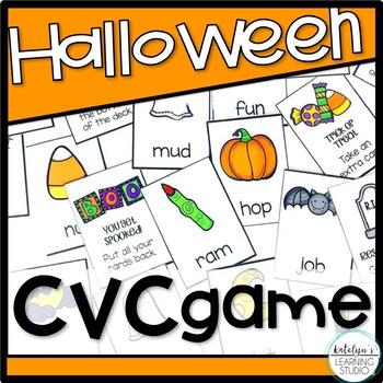 Halloween CVC Games