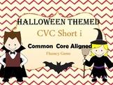 Halloween CVC short i word game for Fluency