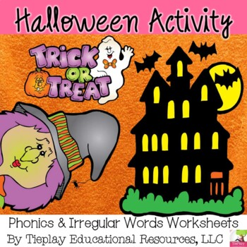 Halloween Phonics Irregular Words