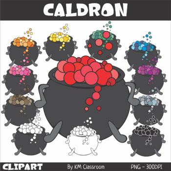 Halloween Caldron Clip Art