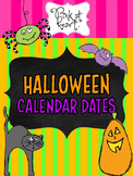Halloween Calendar Dates