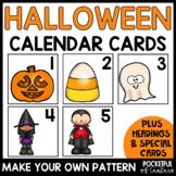 Halloween Calendar Numbers