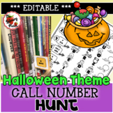 Call Number Hunt {Halloween  Themed}