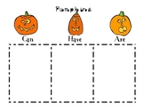 Halloween - Can, Have, Are Chart