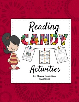 Reading Candy Activities