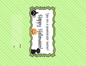 Halloween Candy Bar Wrapper FREEBIE