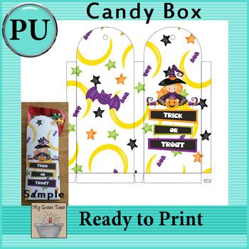 Halloween Candy Box 1