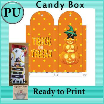 Halloween Candy Box 3