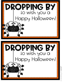 Halloween Editable Cards for Kids