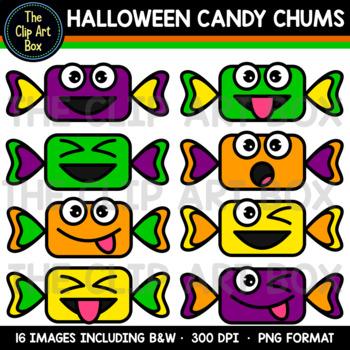 Halloween Candy Chums - Clip Art