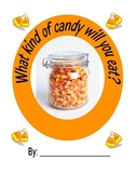 Halloween Candy Class Book and Candy Tasting Activity