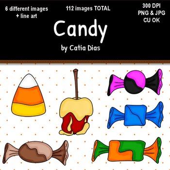 Halloween - Candy Clip Art