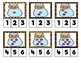 Halloween Candy Clip Cards: Counting to 10