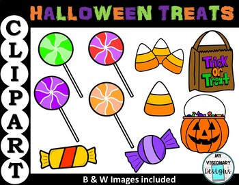 Halloween Candy Clipart