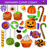 Halloween Candy Clipart Bundle