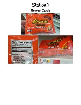 Halloween Candy - Constant of Proportionality