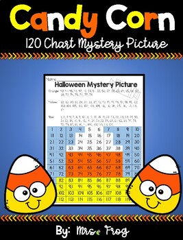 Halloween Candy Corn 120 Chart Mystery Picture