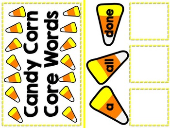 Halloween Candy Corn Adapted Counting Book with Math & Literacy Centers {Autism}