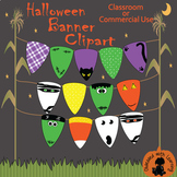 Halloween Candy Corn Assorted Banner Clipart (JPEG and PNG