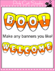 Halloween Decorations - Candy Corn Bunting Banners