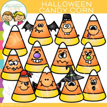 Halloween Candy Corn Clip Art