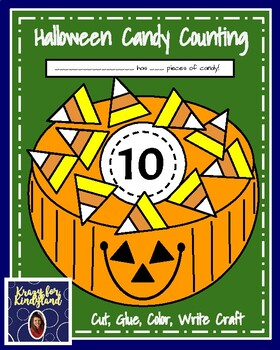 Candy Corn Counting Craft (Halloween, Fall, Autumn)