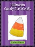 Halloween Candy Corn Craft - FREEBIE!