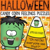 Halloween Activity Candy Corn Feelings Puzzles Emotions Pu