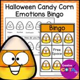 Halloween Activity Candy Corn Feelings and Emotions Bingo