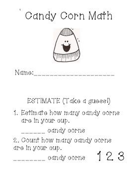 Halloween Candy Corn Math
